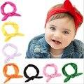 Бесплатная доставка новорожденных девочек мальчиков ребенок случайным соответствующие оптовая продажа мужская сплошной хлопок повязка на голову разнообразие цветов ornaments10 штук