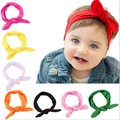 free shipping baby girls boys baby random matching wholesale unisex solid cotton headband a variety of colors ornaments10 pieces
