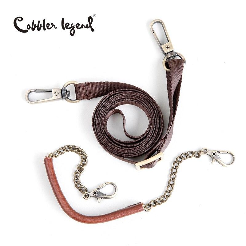 Cobbler Legend High Quality Fashion Brand Women's Handbags Shoulder Genuine Leather Bags For Women Messenger Bag Brown #605113-1