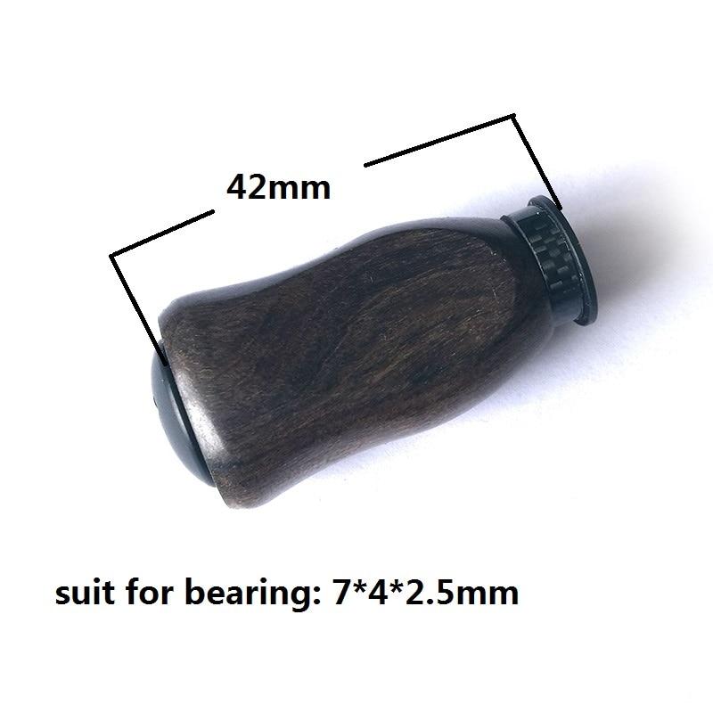 KAWA New Fishing Reel Handle Knob, Material Padauk Handle Knob for Daiwa Shimano Reel, DIY Handle Accessory, Free shipping