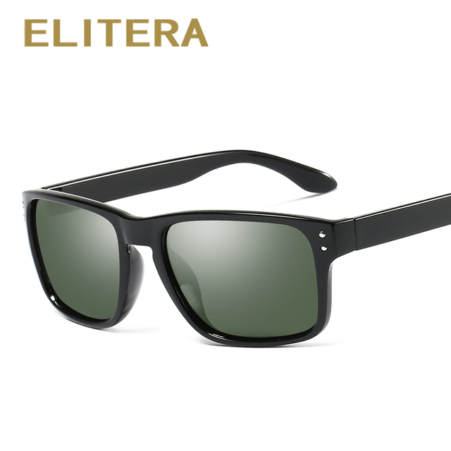 ELITERA New Arrival Men's Sunglasses Polarized Coating Mirror Sun Glasses oculos Male Eyewear Accessories For Men/Women