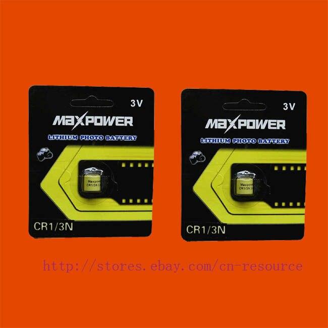 2 x CR1/3N 2L76 CR11180 DL1/3N 5008LC K58L batterie