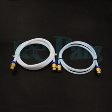 1M PTFE Tube Teflon PiPe Connectors 3D Printers Parts J-head Hotend For V5 V6 1.75mm 3.0mm Filament Bowden Long Extruder Part