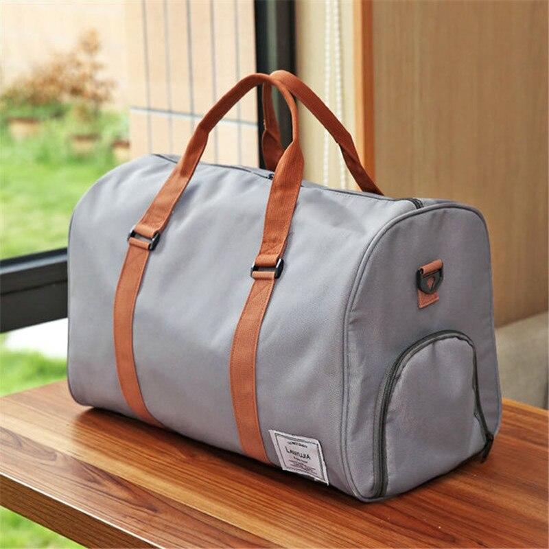 Нейлоновая сумка Для мужчин большой Ёмкость сумка сумки Carry на Чемодан короткой поездки сумки Водонепроницаемый сумки дорожные сумки ночь
