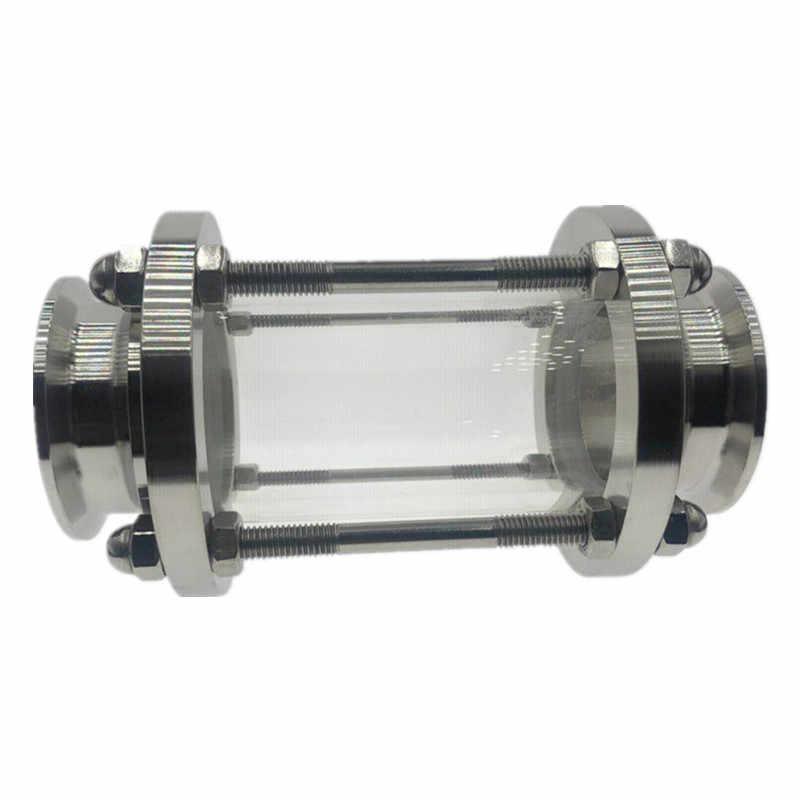 """Wzjg Nieuwe 2 """"Tri Clamp Type Flow Kijkglas Dioptrie Voor Homebrew Dagboek Product Rvs SS304 Beentje Od 64 Mm"""