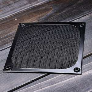 Shield-Case Grill-Guard Computer-Fan DUST-FILTER 120mm Aluminum Cooling