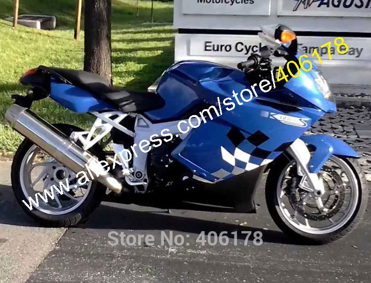 Hot Sales,Blue Black Fairing Kit For BMW K1200S Fairing 05-08 K 1200S 2005-2008 K1200 S 05 06 07 08 ABS plastic Moto Fairings hot sales for bmw k1200s parts 2005 2006 2007 2008 k1200 s 05 06 07 08 k 1200s yellow bodyworks aftermarket motorcycle fairing