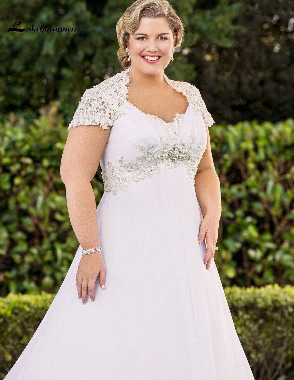 Elegant Halter Plus Size font b Wedding b font font b Dresses b font with Jacket