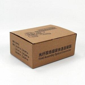 Image 5 - 200 個組み込み SC UPC 光ファイバファストコネクタクイックコネクタ Ftth シングルモード光ファイバの高速コネクタ現場組立光コネクタ