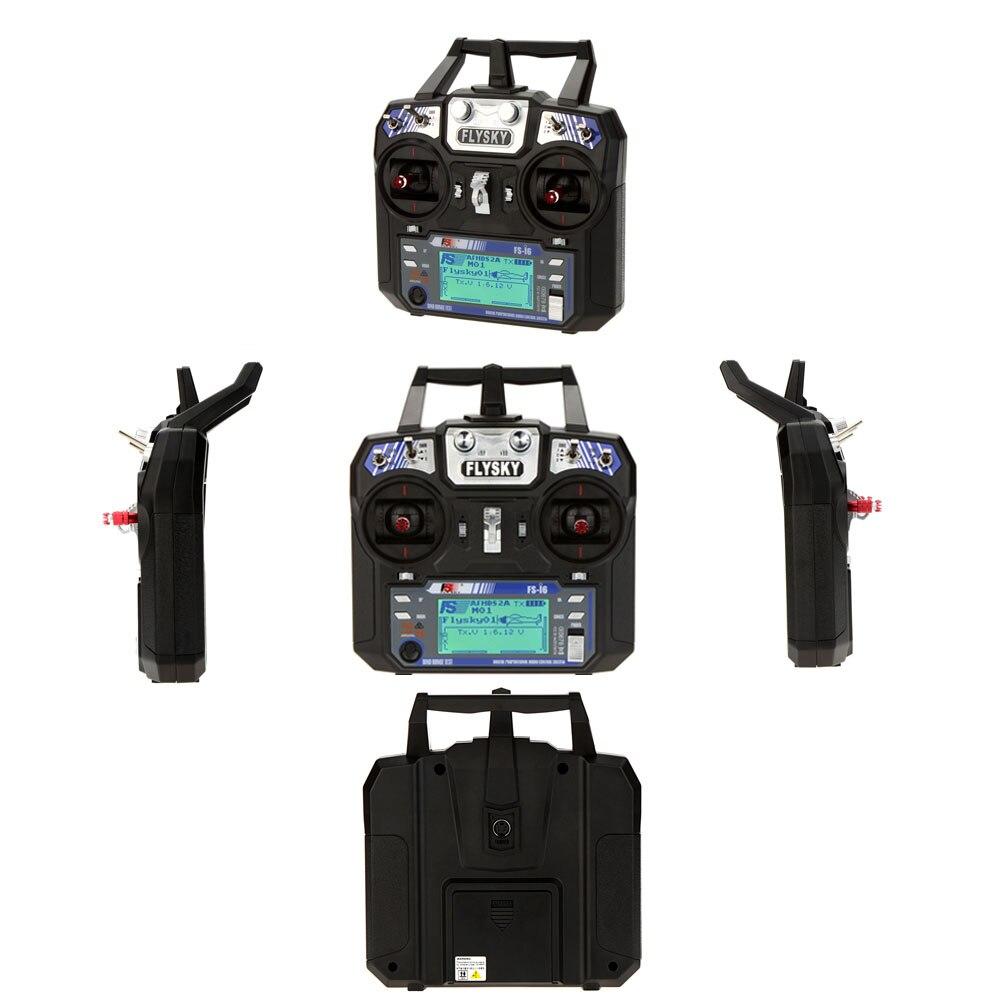 FlySky FS i6 controlador remoto 2,4G 6CH AFHDS RC con el transmisor de FS iA6 FS iA6B receptor para avión UAV de Multicopter DIY Drone-in Partes y accesorios from Juguetes y pasatiempos    3