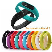 Colorful mi band 2 Strap Bracelet for xiaomi miband 2 Belt Wristband watchband Replacement Smartband Silicone Wrist Straps