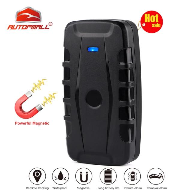 Auto GPS Tracker Rastreador LK209E Wasserdicht Magnet 6000mAh Auto Tracker Drop Shock Alarm Stimme Monitor Freies APP PK TKSTAR TK905