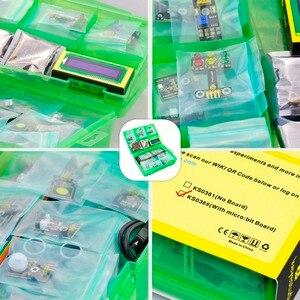 Image 2 - Keyestudio 37 в 1 стартовый набор датчика с микро: битовая плата для BBC MicroBit DIY проектов (включая микро: битовая плата)