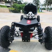 Электрический скейтборд CHICWAY четырехколесный высокопроизводительный внедорожный электрический скутер, четырехколесный 4*800, 3200 Вт, 45 км/ч, Bajaboard