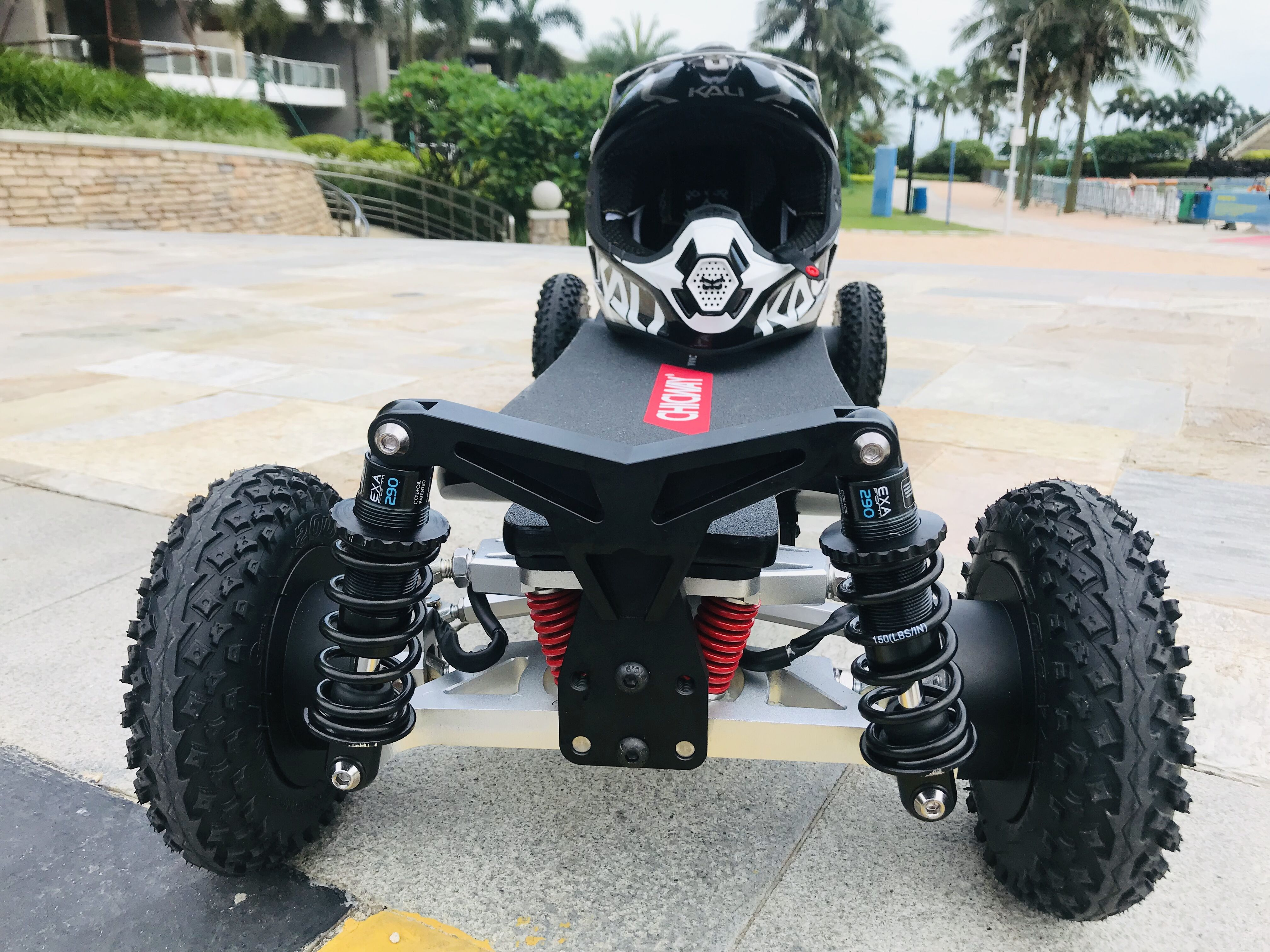Electric Skateboard CHICWAY Four-wheel High-performance Off-road Electric Scooter,four-wheel Drive 4*800, 3200W,45km/h,Bajaboard