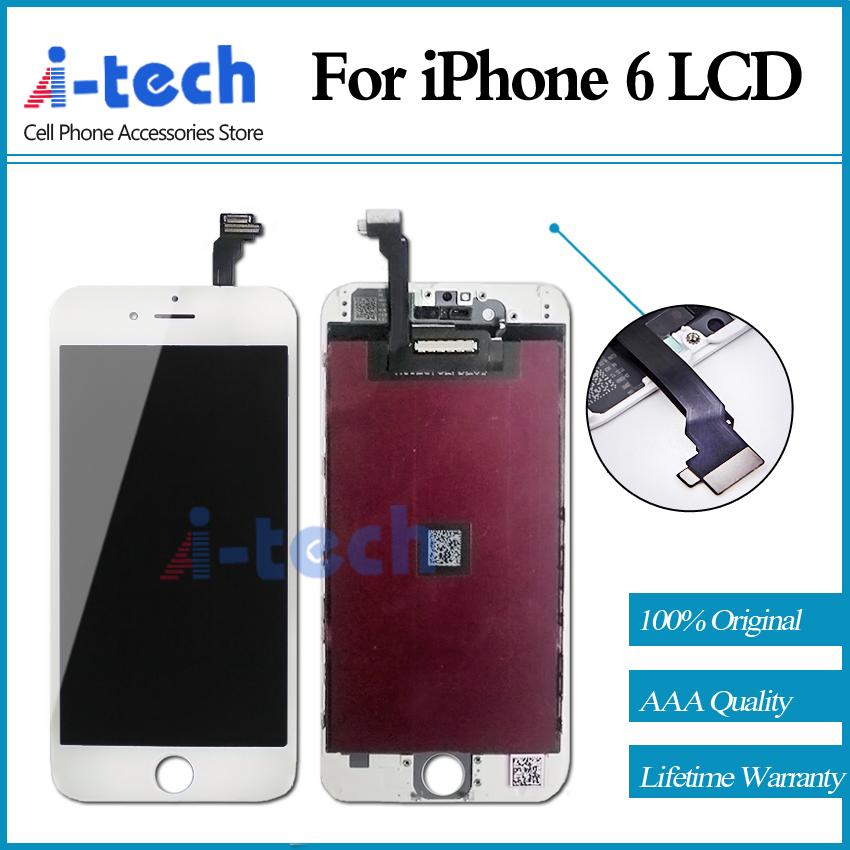 Prix pour 20 PCS/LOT Pour l'iphone 6 LCD Garantie Qualité Écran Remplacement 100% Marque Nouvel Affichage Livraison Gratuite