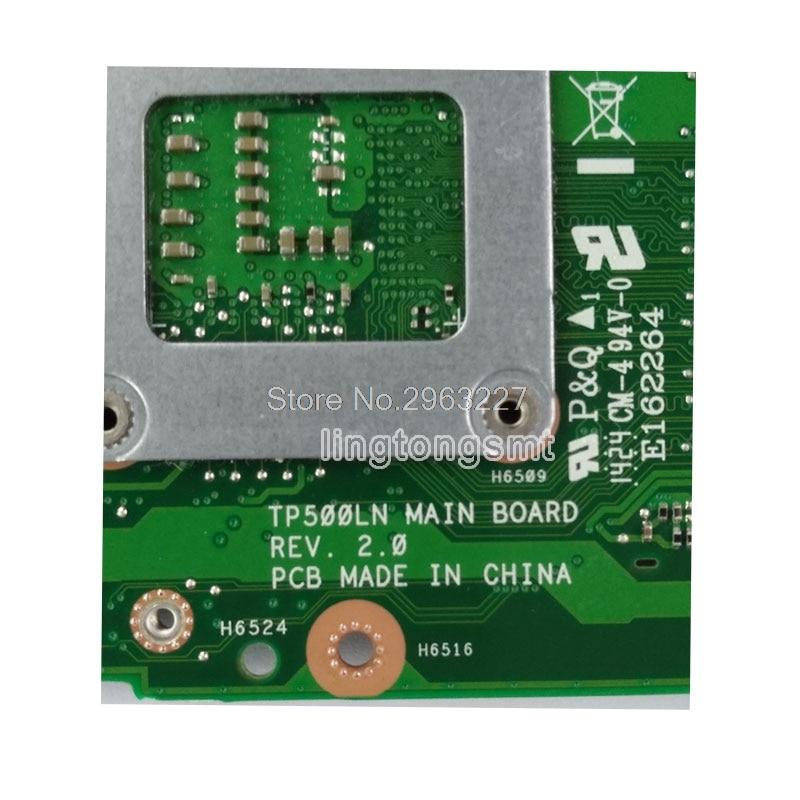 TP500LN Laptop motherboard for ASUS TP500LA TP500LD TP500L original mainboard TP500LA Motherboard 4GB-RAM I3-4030U LVDS