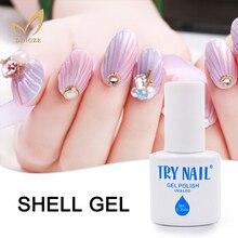 Shell Style Pearl Gel Varnish Shell Color Nail Art Salon UV Nail Gel Polish Soak Off