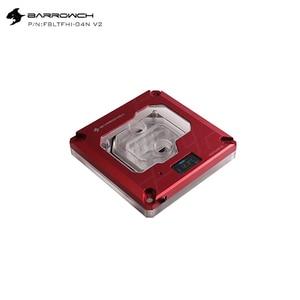 Image 5 - Barrowch blocs deau CPU, FBLTFHI 04N V2, pour Intel Lga115X/X99/X299, affichage numérique, Microwaterway