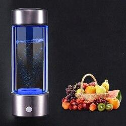 Filtro de hidrogênio para água, gerador ionizador para água, copo de energia saudável, anti-envelhecimento, garrafa alcalina, eletrolise, para bebida, hidrogênio