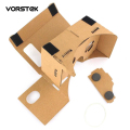 "New Arrival DIY Google Cardboard Virtual Reality VR Mobile Phone 3D Viewing Glasses for 5.0"" Screen Google VR 3D Glasses"