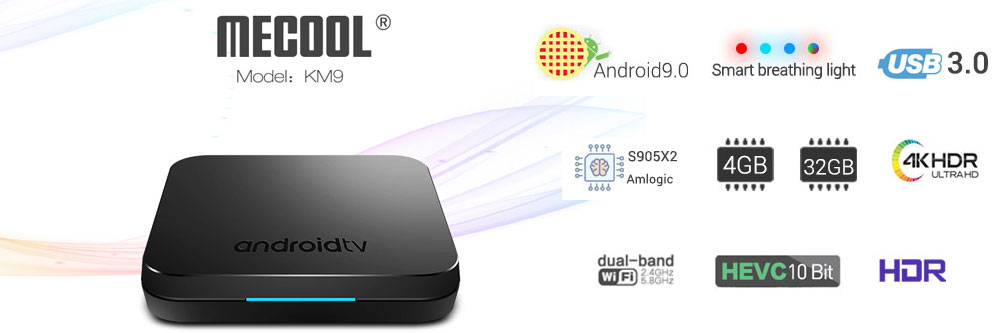 VONTAR V1 Google Voice Control Android 7 1 Streaming TV BOX