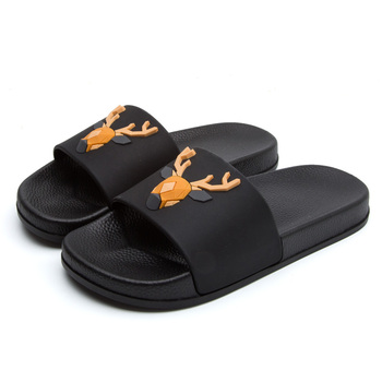 Women 5d Cartoon Deer Slide Sandals Summer Slippers Slides Flats Beach Slides Home Slippers Slip On Bothe Sandals Women Shoes 4