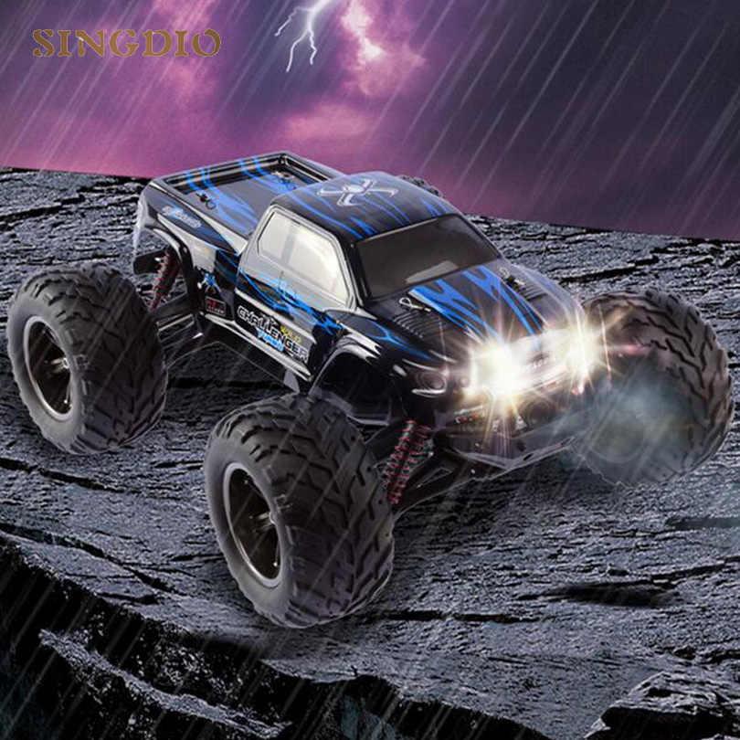 RC coche eléctrico 2,4 GHz 4WD neumático grande de alta velocidad Pie Grande coches de carreras juguete todoterreno buggy vehículo modelo wltoys drift regalo para niños