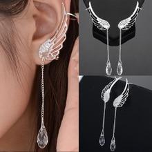 Dreamlikelin Fashion Ear Cuff Clip Earrings Angel Wing Tasse