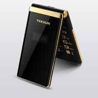 3G WCDMA flip Dual SIM cellphones 3.0 dual Screen senior touch FM cheap china mobile phone russian keyboard button TKEXUN m2+