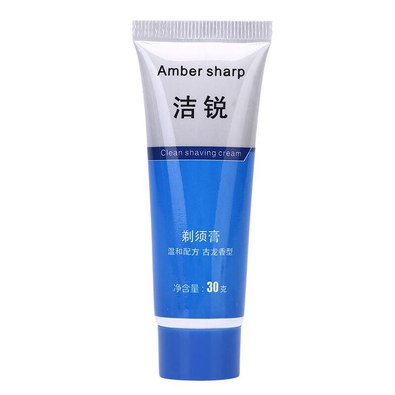 1pc Foam Manually Soften Beard Reduce Friction Shaving Cream Deionized Water Shaving Cream For Men Suitable For All Skin Shaving