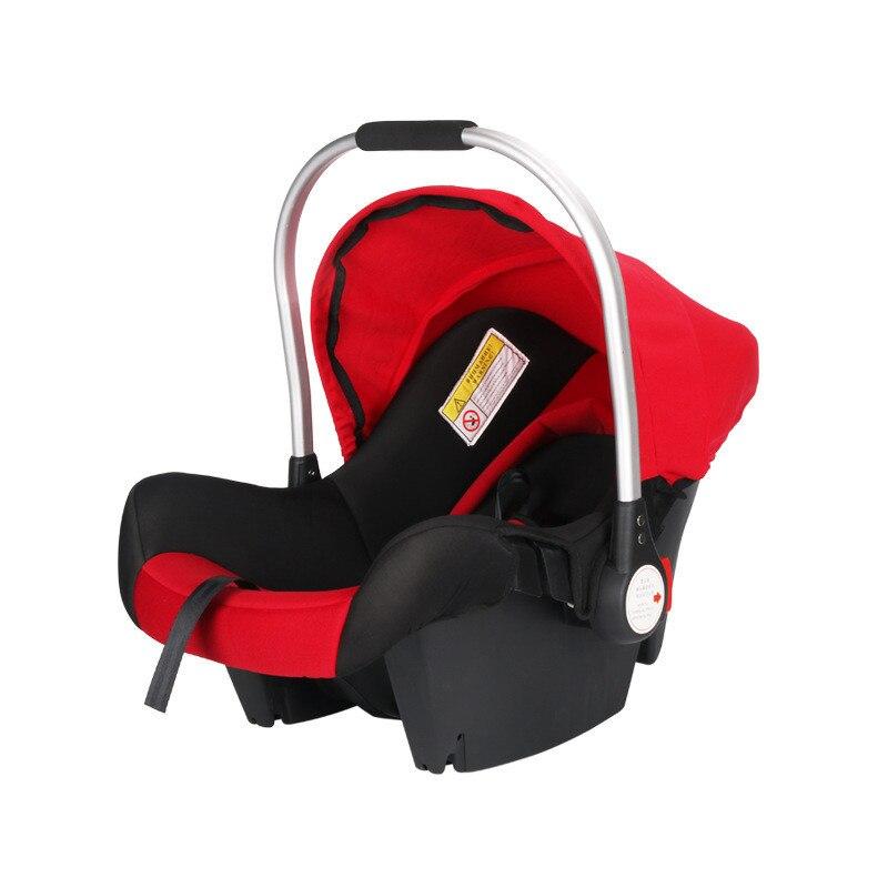 Bébé bébé panier-Style sécurité siège de voiture bébé siège de voiture Portable enfant automobile sièges de sécurité enfants poignée extérieure berceau