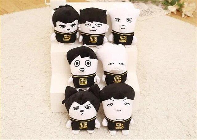24cm Anime Doll KPOP BTS Plush Toys Kawaii Hiphop Monster Bangtan Boys JIMIN V JUNGKOOK JIN