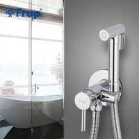 FARP bidés latón baño grifo de ducha bidé baño pulverizador para baño lavadora mezclador musulmán ducha higienica baño grifo