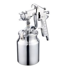 Suction Type Air Spray Gun 2.0mm Stainless Nozzle 1000ml Capacity Spray Gun Tool Car Furniture Spray Paint