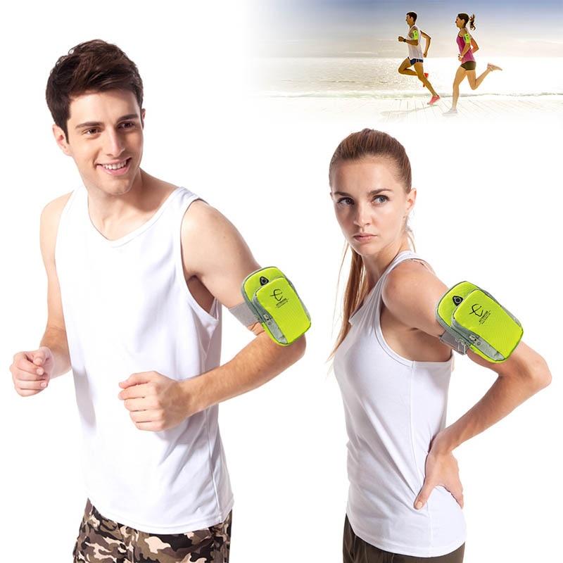 1 piece 5 5inch running jogging gym phone bag sports wrist bag arm bag outdoor waterproof