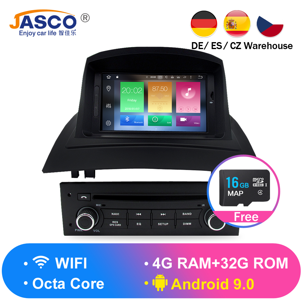 4GB IPS Android 8.0 Car Stereo DVD Multimedia For Renault Megane 2 Fluence 2002-2006 2008 Auto Radio GPS Navigation Audio Video4GB IPS Android 8.0 Car Stereo DVD Multimedia For Renault Megane 2 Fluence 2002-2006 2008 Auto Radio GPS Navigation Audio Video