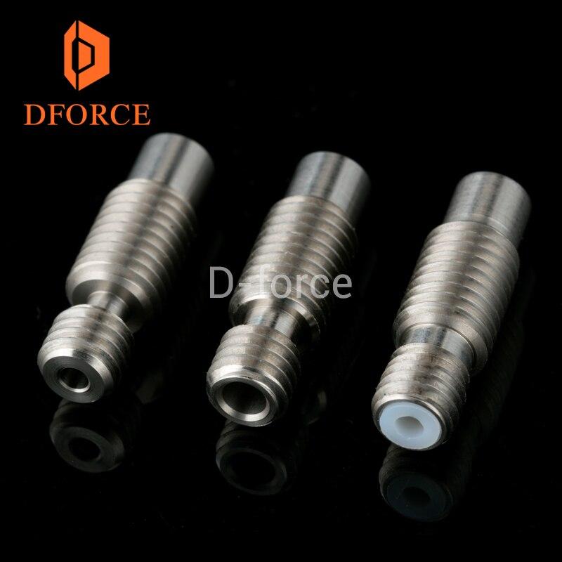 1 Pc Hohe Qualität Wärme Pause Für E3d V6 Hotend Vocano Heizung Block 1,75 Mm Filament Remote Fütterung Rohr 3d Drucker Zubehör
