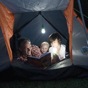 Image 5 - Bombilla de luz portátil lámpara de suspensión bombilla LED exterior camping jardín fiesta armario LED lámpara tira cable bombilla verlichting snoer tuin