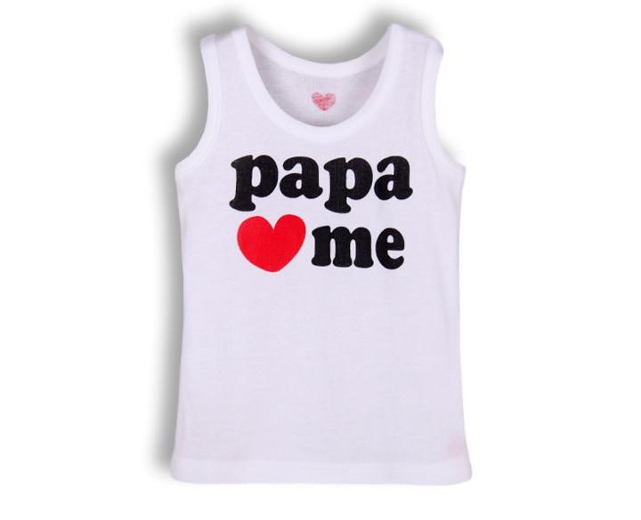 4 шт./лот хлопок футболки для грудничков детская футболка детская одежда детские футболки для мальчиков летняя одежда для девочек детские футболки детское платье без рукавов - Цвет: papa