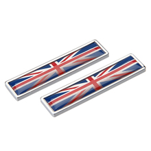 Britain UK England Flag Emblem Badge Stickers Metal For Range Rover Mercedes Ford Focus Audi Nissan Mini Cooper Car Accessories