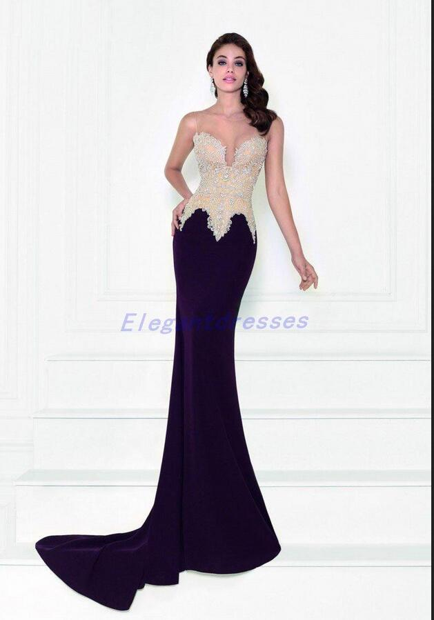 2017 formal evening gowns wedding party dresses spring for Dresses for afternoon wedding