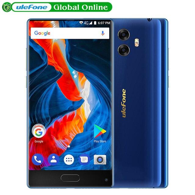 """Ulefone MIX S 5.5 """"HD Lunetta-less Smartphone Android 7.0 Quad Core 2 GB 16 GB 13MP Dual Cam 3300 mAh Impronte Digitali 4G LTE Mobile telefono"""