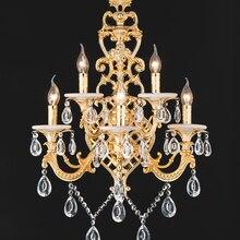 Lámpara led de pared moderna para el hogar, accesorios de pared para hotel, candelabro de pared de salón grande para villa E14, sala de estar de cristal para lámparas de pared, luz de tocador