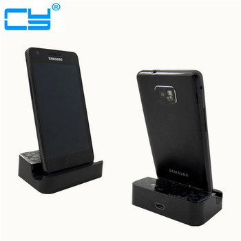 100pcs/Lot Micro USB Data Sync Desktop Charging Cradle Charger Dock Stand Station For Samsung Galaxy S5 S6 S7 Edge By DHL UPS