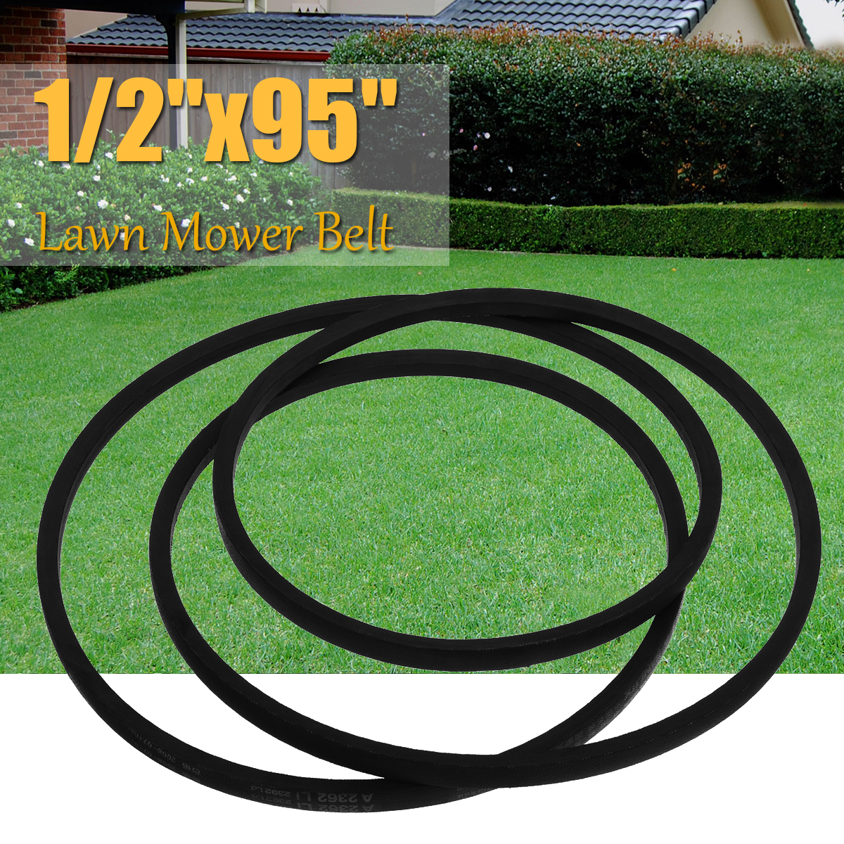 A93V Belt 13mm 1/2 x 95 Industry Lawn Mower Belt Black Rubber Tapes for Yard Machine Lawn Mower K Type Vee V Type Belt картридж струйный cactus cs cli471xlc голубой для canon mg5740 mg6840 mg7740 cactus