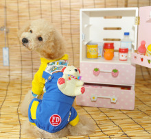 New Pet Clothes Cute Dog clothing Pets Doll Pants Toy Bear Puppy Rompers Wholesale Pet Apparel