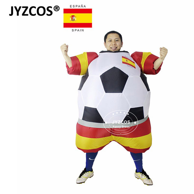 ... Russia Football Player Halloween Costume for Men and Women Adults Soccer Costume Fancy Dress Party Club ...  sc 1 st  Aliexpress & Online Shop JYZCOS World Cup Russia Football Player Inflatable ...