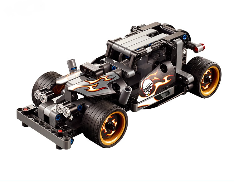 Toys Building Blocks china brand 3417 self locking bricks Compatible with Lego Technic Getaway Racer 42046