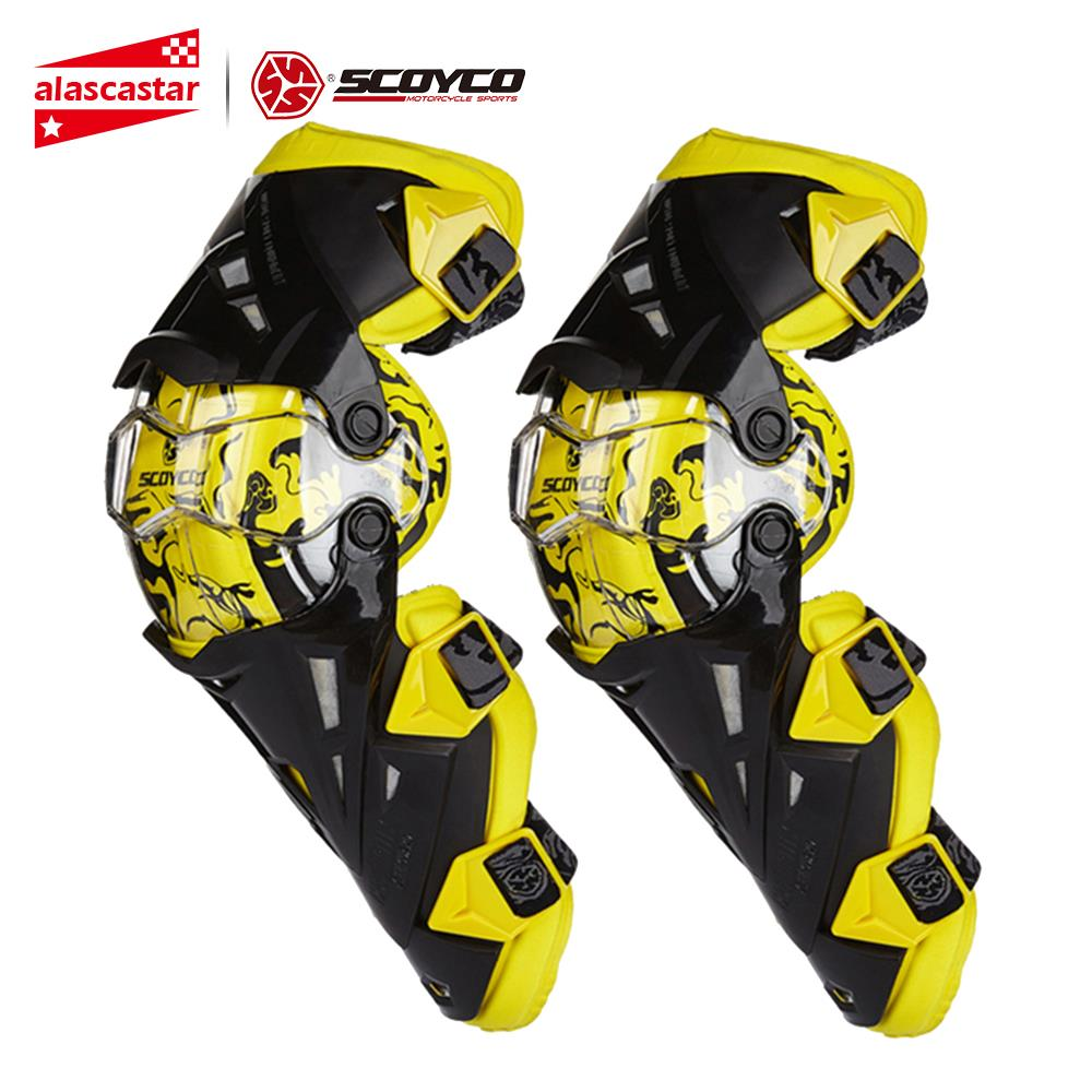 Scoyco Moto genouillère hommes équipement de protection genou Gurad genou protecteur équipement de Rodiller Motocross Joelheira Moto #